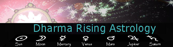 Mark Wolz's Dharma Rising Astrology
